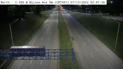 CR - I-380 @ Wilson Ave SW - WWD(07)