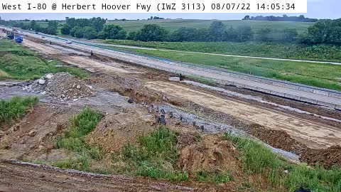camera snapshot for 6L - I-74 @ River Dr IL (IWZ 3113)