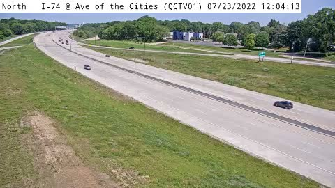 camera snapshot for QC - I-74 @ Avenue of the Cities (01)