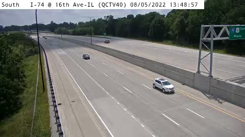 camera snapshot for QC - I-74 @ 16th Ave-IL (40)
